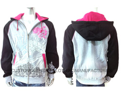 Men Cotton Zip Hoodie