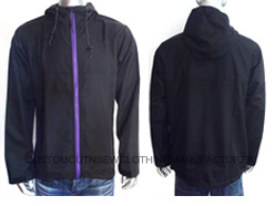 Men Polyester Wind Jacket